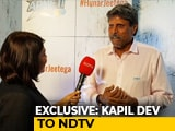 Video : After Shikhar Dhawan Injury, Kapil Dev Says Leave Choice Of Opener To Selectors