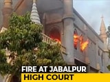 Video : Fire Breaks Out At Madhya Pradesh High Court In Jabalpur