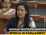 Video : 7 Signs of Fascism, Says Trinamool's Mahua Moitra in Maiden speech