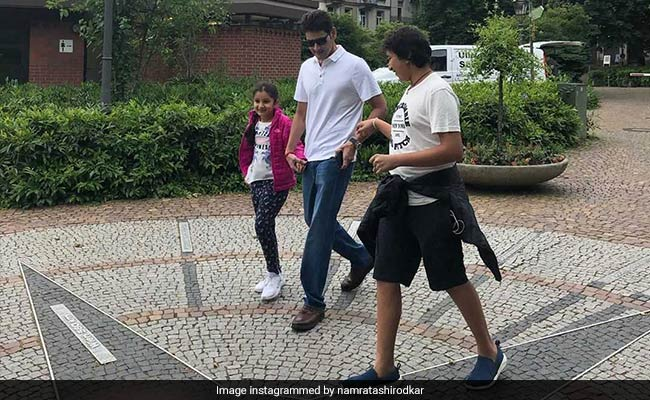 Namrata Shirodkar Shares A Loved-Up Pic Of Her 'Special People'