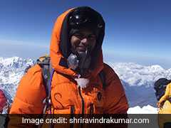 IAS Officer Scales Everest With A Message To Clean River Ganga