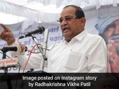 Radhakrishna Vikhe Patil Quits Congress, Others May Follow