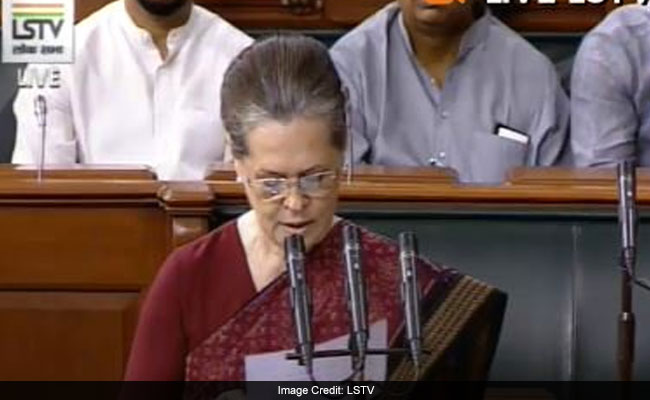 Why Sonia Gandhi Brought Transcript Of Donald Trump Remarks To Lok Sabha