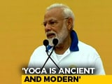 "Video : ""Yoga For All, All For Yoga,"" Says PM In Mega Event At Ranchi"