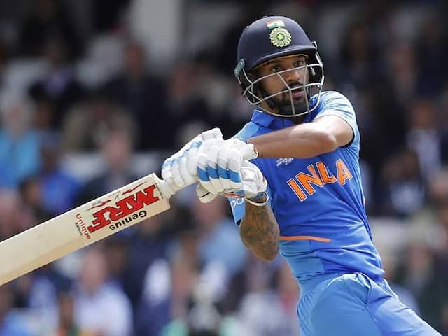 """""""The Pitch Will Miss You"""": PM Modis Message For Injured Shikhar Dhawan"""