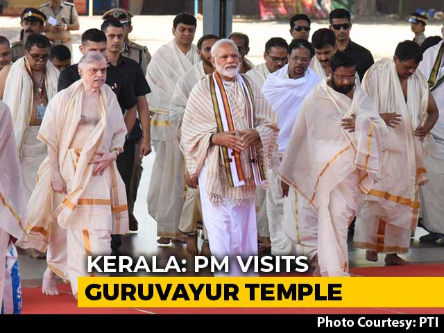 Video : PM Modi In Kerala Ahead Of First Overseas Trip Of His Second Term