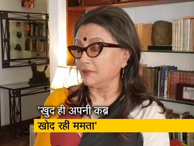 Videos : जय श्री राम विवाद पर अपर्णा सेन का बयान- खुद ही अपनी कब्र खोद रहीं ममता