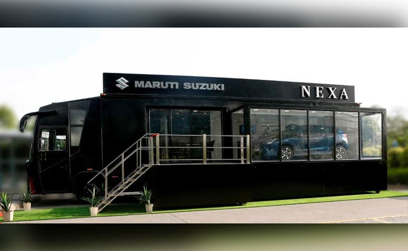 Maruti Suzuki Expands To Newer Cities In India With Mobile Nexa Terminal