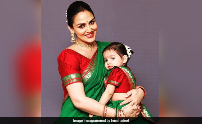 New Mom Esha Deol Reveals How Miraya And Radhya's Names Are Connected