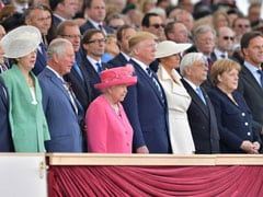 Donald Trump, Queen Elizabeth II Commemorate 75th D-Day Anniversary