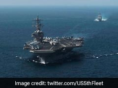 US Navy Receives Distress Calls From 2 Ships In Gulf Of Oman