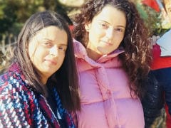 Kangana Ranaut And Rangoli Chandel Are 'Chilling Like Villains' In Manali