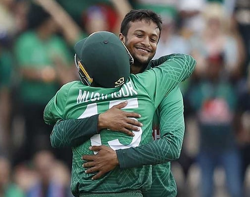 Shakib Helps Bangladesh Sink Afghanistan To Keep Semis Hopes Alive