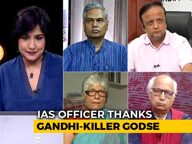 Video : Praise For Mahatma Gandhi Killer: Is There A Pattern?