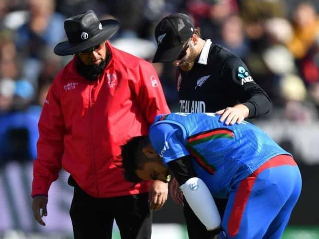 Afghanistan Skipper Gulbadin Naib Gives Update On Rashid Khans Head Injury