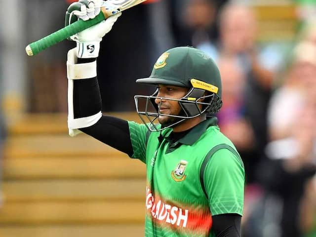 Shakib Al Hasans Ton Inspires Bangladesh Chase Mammoth Total vs West Indies