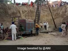 Technical Issues Disrupt Rescue Ops Of Boy Stuck In Borewell Since 3 Days