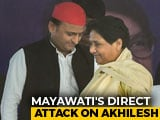 "Video : ""Didn't Even Call After Poll Loss"": Mayawati Charges At Akhilesh Yadav"