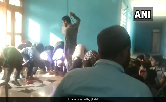 Jammu And Kashmir Teacher Thrashes Students For Turning Up Late To Class