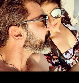 Pics From Pooja Batra's Romantic Holiday With Her 'Soulmate'
