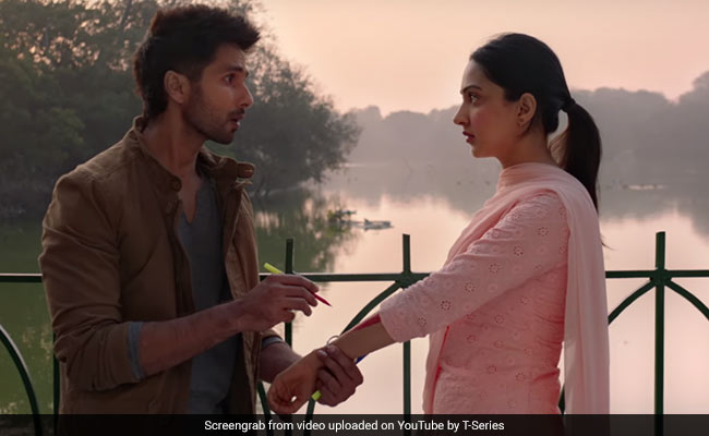 Kabir Singh Song Kaise Hua Showcases How Shahid Kapoor Fell In Love With Kiara Advani
