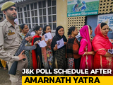 Video : Assembly Polls In Jammu And Kashmir Likely Later This Year: Election Body