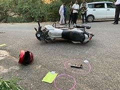 दिल्ली पुलिस के साथ मुठभेड़ में एक लाख का इनामी बदमाश गिरफ्तार और दूसरा घायल