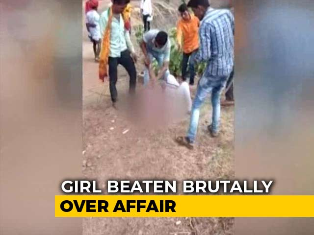 Video : Woman Who Ran Away With Dalit Man Thrashed By Family In Madhya Pradesh