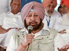 "On Calling Release Of Water To Pak ""Motivated"", Amarinder Singh's Reply"