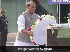 Rajnath Singh Pays Tribute To Jawans Killed In Poonch Ceasefire Violation