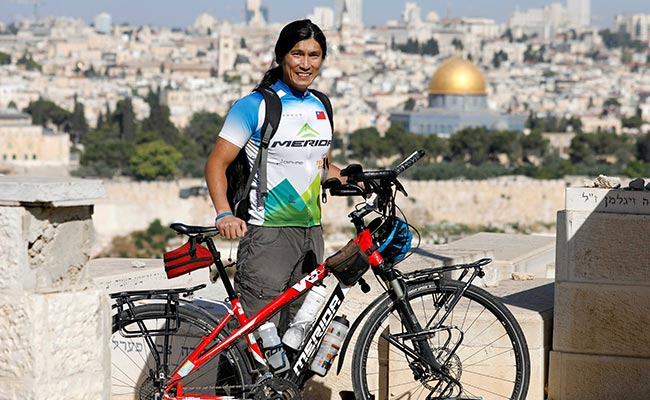 This Man Quit His Job As Engineer 4 Years Ago To Cycle Across The World