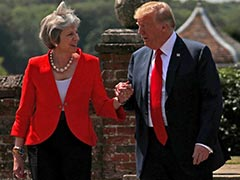 Outgoing British PM May To Call On Trump For Economic Cooperation