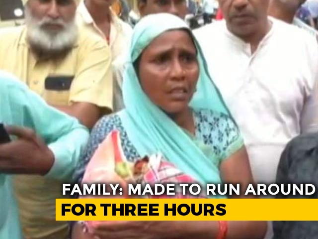 Video : Newborn Dies On Stairs After Being Shunted Between Hospital Wings In UP
