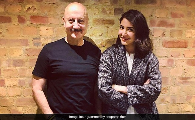 Anupam Kher And Anushka Sharma's Chit-Chat About Their 'Favourite' Virat Kohli In London