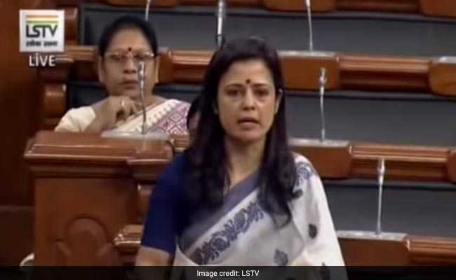 7 Signs of Fascism, Says Trinamool's Mahua Moitra In Debut Speech