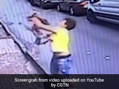 Baby Falls From Second Floor, Caught By Teenager In Hair-Raising Video