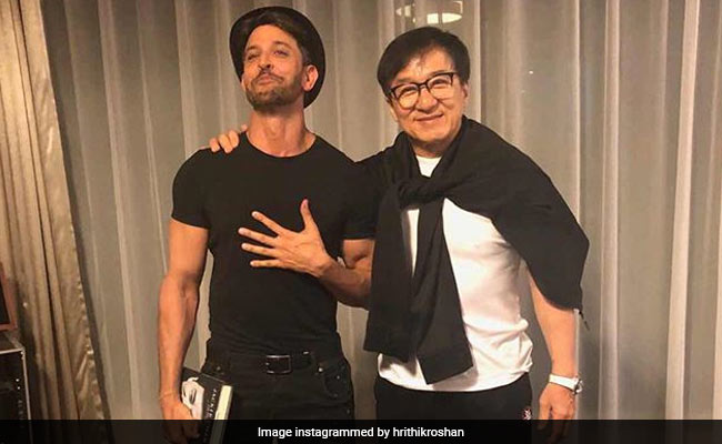 Hrithik Roshan Meets Jackie Chan In China, Shares Pics From 'Incredible Experience'