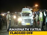Video : First Batch Of Pilgrims Leave For Amarnath From Jammu