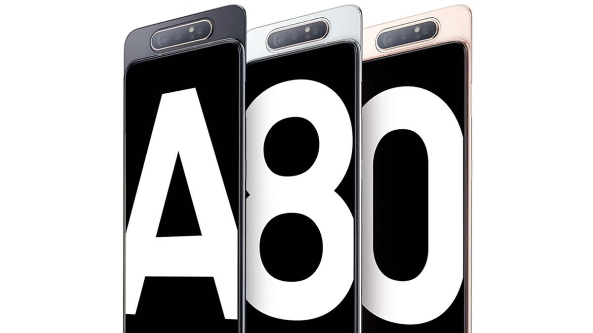 Samsung Galaxy A80 जल्द होगा भारत में लॉन्च, सैमसंग की साइट पर लिस्ट