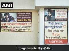 """When Are You Quitting Politics?"": Posters In Punjab Ask Navjot Sidhu"