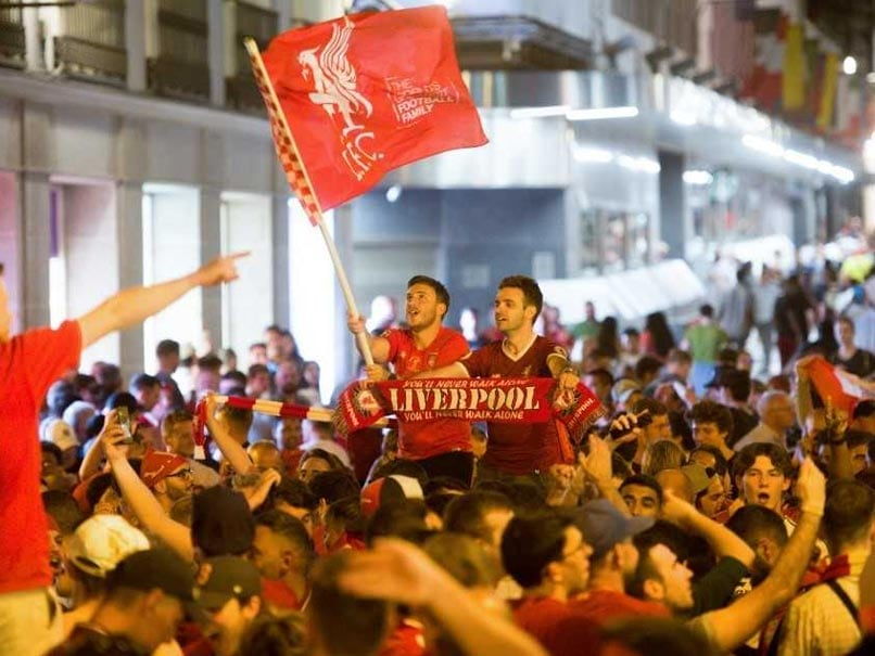 Jubilant Liverpool Fans Celebrate Champions League Win In Madrid