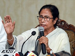 Mamata Banerjee Greeted With ''<i>Jai Shri Ram</i>'' Slogans At Rath Yatra Event