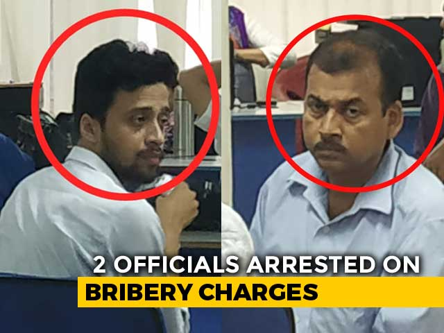 Video : Two Assam Officials Caught Taking Bribe To Include Name In Citizenship List
