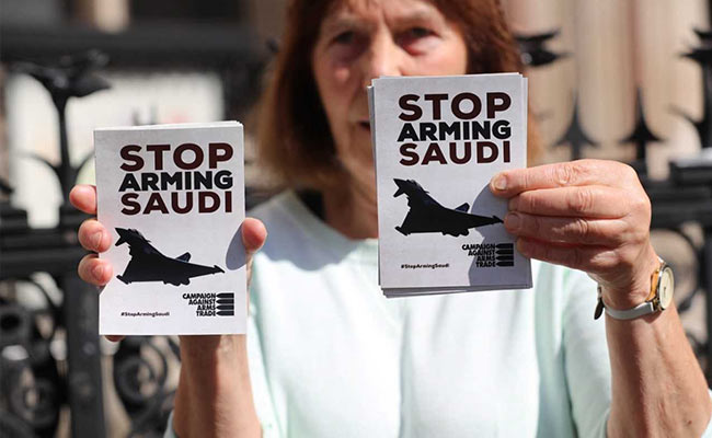 Britain Broke Law In Allowing Arms Exports To Saudis, Says UK Court