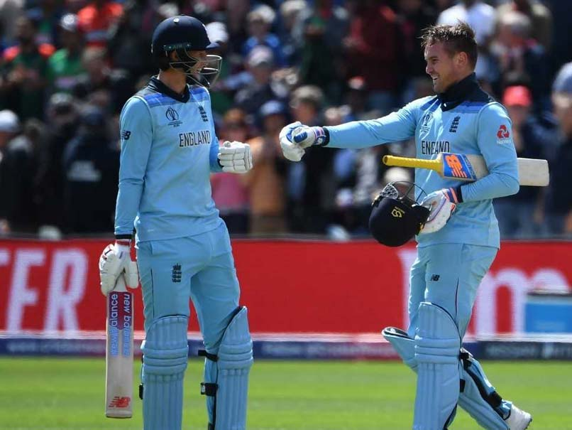 Jason Roy Century Sets Up England World Cup Win Over Bangladesh