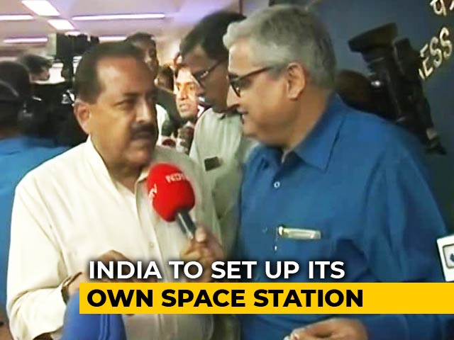 Video : As India Heads To The Moon, Minister Says Not To Underestimate Space Missions