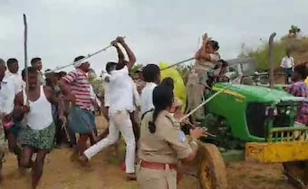 Telangana Officer Went To Plant Trees. She Was Thrashed By TRS Workers