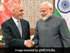 PM Modi Meets Afghanistan President Ashraf Ghani At SCO Summit
