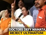 Video : Striking Doctors Set Terms After Mamata Banerjee's Ultimatum