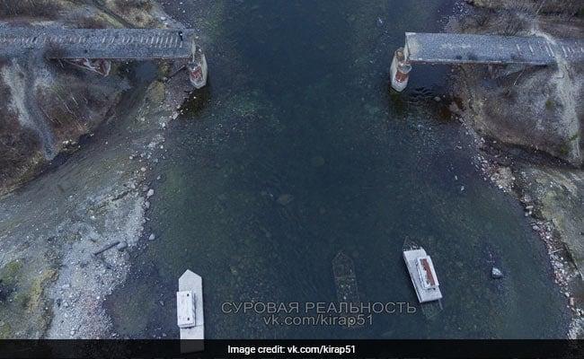 रातों-रात गायब हुआ 23 मीटर लंबा और 56 टन भारी रेलवे ब्रिज, तस्वीर देख लोगों के उड़े होश
